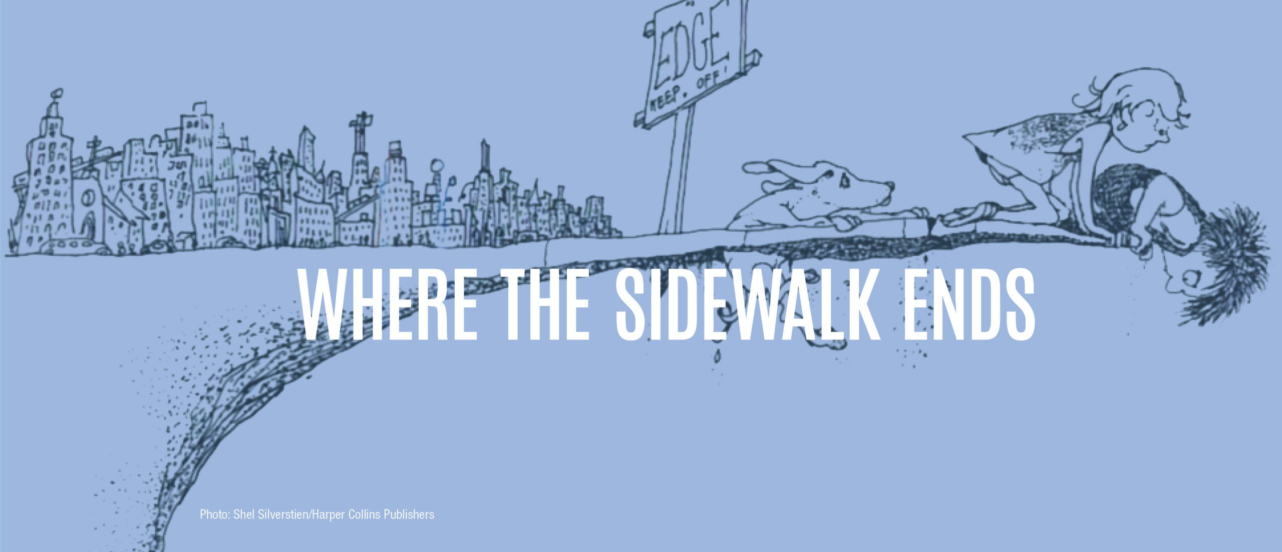 Blog title - Where the sidewalk ends